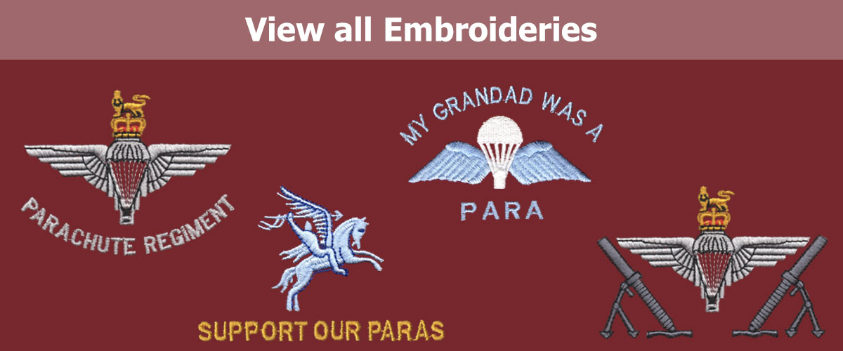 Click to View all Embroideries