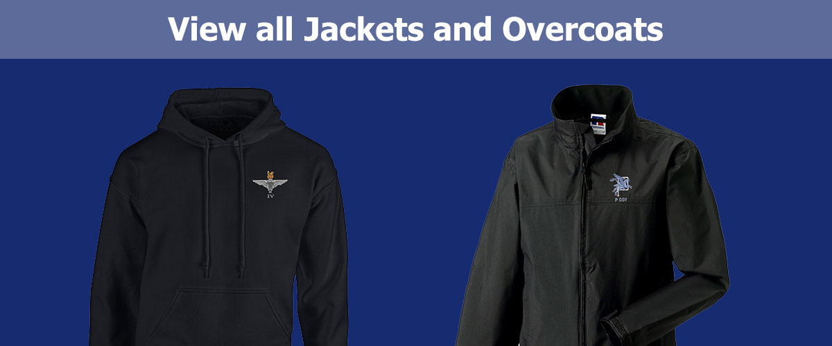 Click to View all Jackets and Overcoats