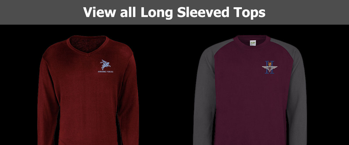 Click to View all Long Sleeved Tops