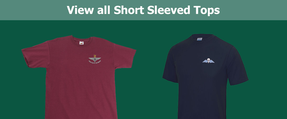 Click to View all Short Sleeved Tops